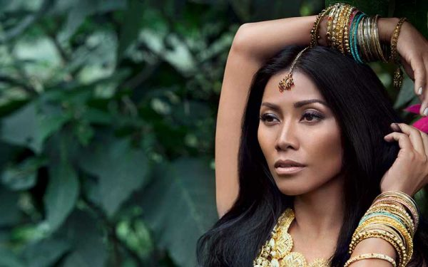 Anggun C. Sasmi artis terkaya